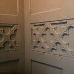 Custom trim panels for walls and coffered ceilings are well suited to our equipment and design capabilities.
